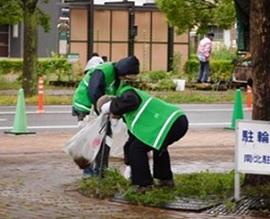 佐賀市どんどんどんの森で「環境...